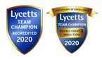 Lycetts Team Champion Award 2020
